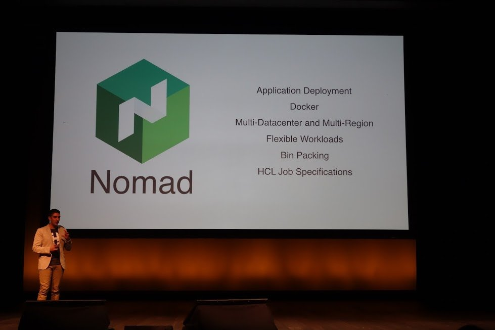 Hashiconf 2015 keynote log3 for Hashicorp nomad
