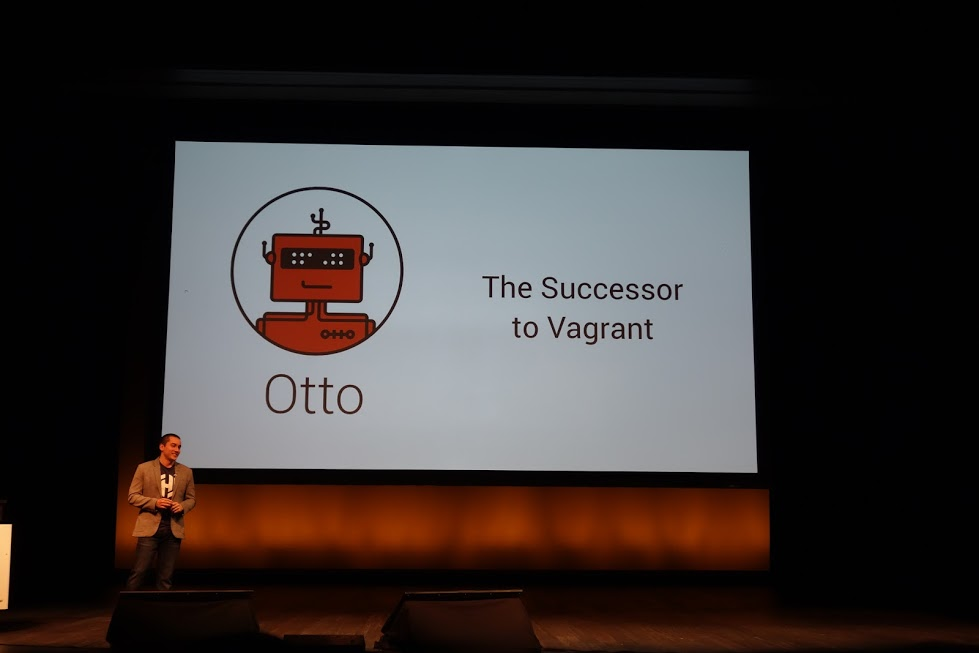 Hashiconf 2015 keynote log3 for Hashicorp otto